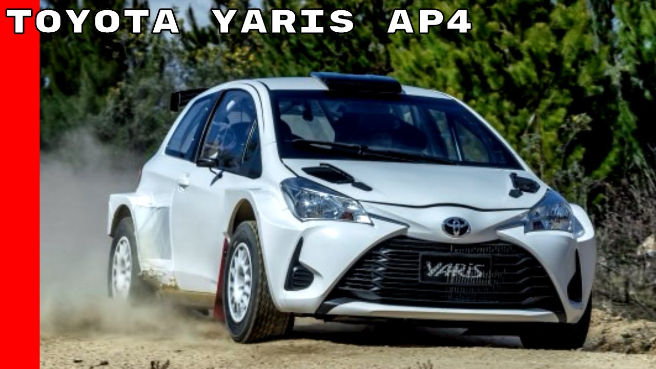2017 Toyota Yaris Rally Car - YouTube