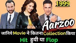vuclip Akshay Kumar AARZOO 1999 Bollywood Movie LifeTime WorldWide Box Office Collection
