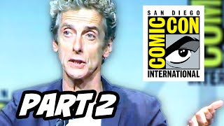 Doctor Who Series 9 Comic Con 2015 Panel - Part 2