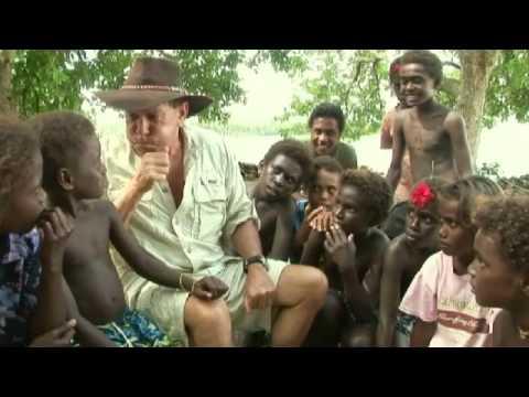 Iles Salomon Honiara Enfants Qui Jouent Solomon Islan