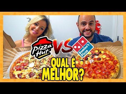 COMPARAMOS A PIZZA HUT COM A DOMINO'S PIZZA, QUAL É A MELHOR? 🍕   Provando Delivery's