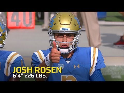 josh-rosen-highlights:-star-quarterback-is-ready-for-the-2018-nfl-draft