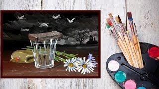 Видео урок Рисуем Гуашью Картину В память павшим! #Dari_Art #9мая