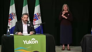 Yukon COVID-19 update: Premier Sandy Silver announces easing of border controls – June 24, 2020