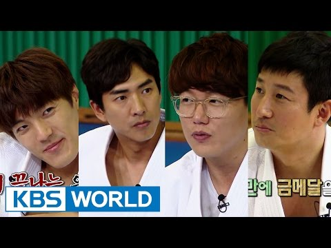 Cool Kiz on the Block | 우리동네 예체능 - Special Training with Judo Heroines (2015.10.27)