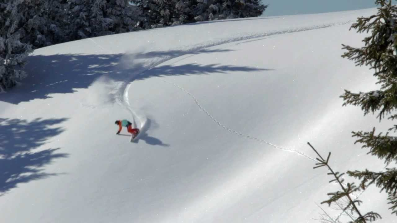 Flow extreme carving snowboard in germany lenggries