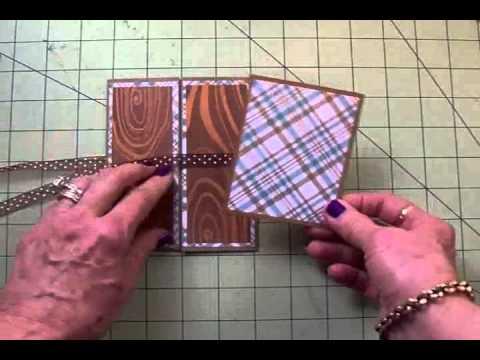 "FUN CARD FOLDS #3 ""OH NUTS!"" GATE FOLD CARD"