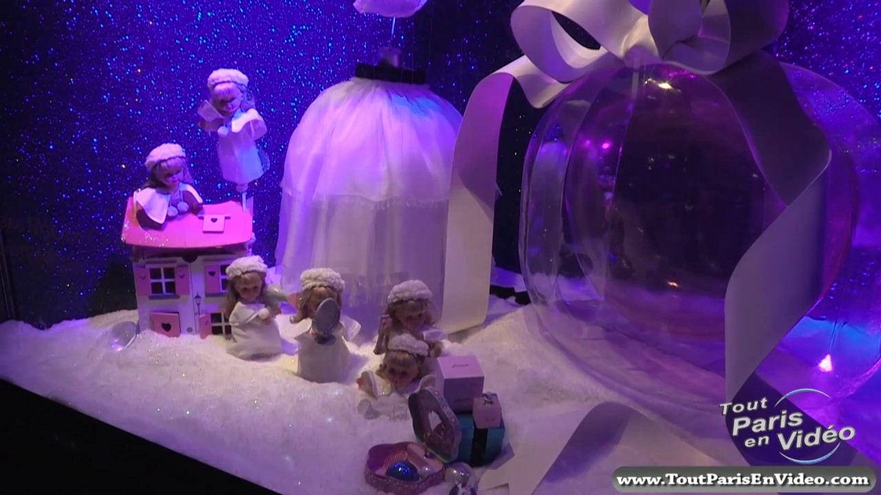 Vitrines des grands magasin illumination no l 2012 2013 - Magasin deco noel paris ...