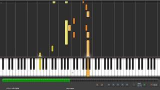 Synthesia Piano 陳柏宇 你瞞我瞞 鋼琴版