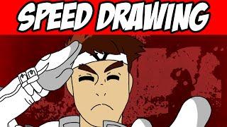 Speed Drawing - Jin Saotome