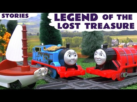 Thomas and Friends Sodor's Legend Of The Lost Treasure Spongebob Play Doh Toy Trains