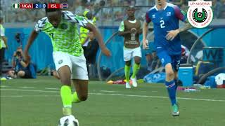 Ahmed Musa Vs Iceland 2018 World Cup Russia March