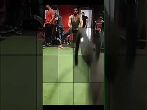 Jeetu Kamal aka Bablu from Rangiye Diye Jao - Gym time - CrossFit
