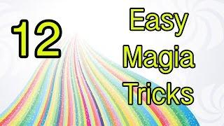 12 easy magic tricks revealed tutorial