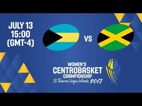 Bahamas vs Jamaica - Full Game - Women's Centrobasket Championship 2017