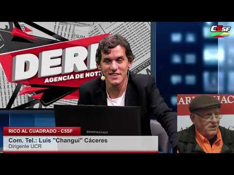Changui Cáceres: Estamos fumando sentados en un barril de pólvora