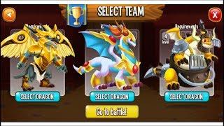 Dragon City - Random Fight | Part 136 [Full Combat & Skills 2017]