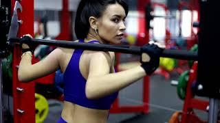 Фитнес мотивация Тренировка с фитоняшкой