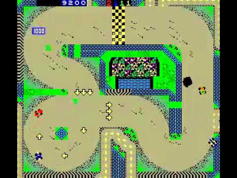 Game Of The Day 416 American Speedway (アメリカスピードウェイ) 1987 Enerdyne Technologies