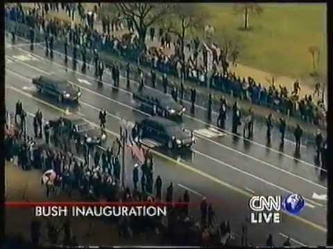Inauguration of George W. Bush, January 20, 2001.