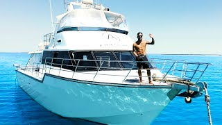 3 DAYS Living From The Ocean AMAZING Remote Island Boat Trip (Part 1) - Ep 169