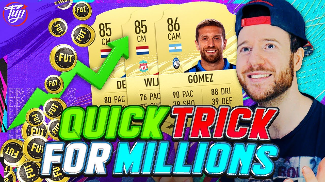 QUICK TRICK TO MAKE COINS AT THE START OF FIFA 21! - FIFA 21 Ultimate Team