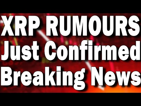 RIPPLE NEWS TODAY, XRP TO $100, XRP SHOCKING RUMORS CONFIRMED! XRP NEWS TODAY: AUGUST 13
