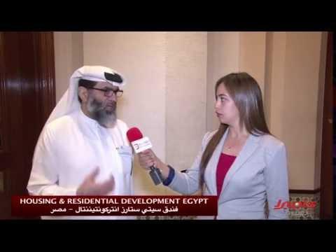"""لقاء مع سعادة المدير التنفيذي سامي قرقاش في مؤتمر الإسكان """" القاهرة"""""""