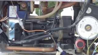Reparar caldera de gas: Sustitucion membrana y valvula de 3 vias en caldera fagor.