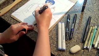 Marth Speed Drawing