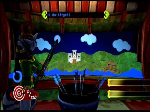 Sly Cooper Thieves in Time Part 34 - Ye Olde Shooting Gallery