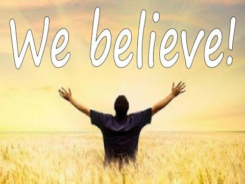 We Believe - Karaoke - Always Glorify GOD!!!