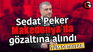Sedat Peker Makedonya'da gözaltına alındı. TÜM DETAYLAR