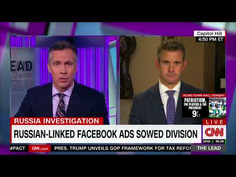 9/28/17: Rep. Kinzinger joins CNN's Jim Sciutto