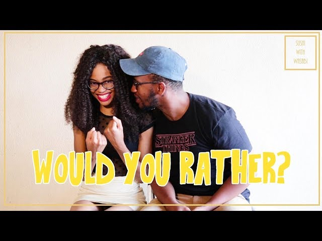 Would You Rather Challenge!