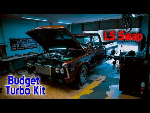 Old School Turbo LS Swapped Truck!