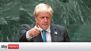 Boris Johnson quotes Kermit the Frog as he tells the world it's time to grow up