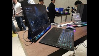 We finally got the chance to see ASUS ROG Mothership!
