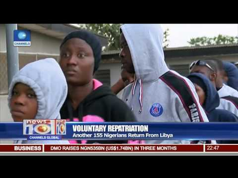 Another 155 Nigerians Voluntarily Return From Libya