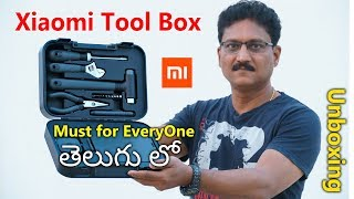Xiaomi Tool Box Unboxing in Telugu | Must for Everyone Tool Kit...