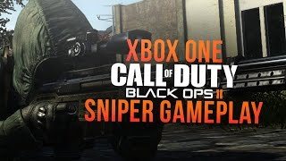 INSANE Black Ops 2 XBOX ONE SNIPER GAMEPLAY