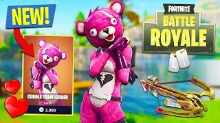 *New Update* Teddy Bear Skin Gameplay Max Level 100 196+ wins (Fortnite Battle Royale )