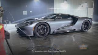 Ford GT 66 Heritage Edition Wind Tunnel Testing