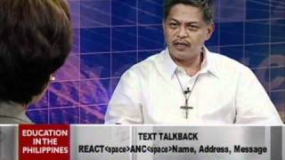 ANC Talkback: Education in the Philippines 1/6