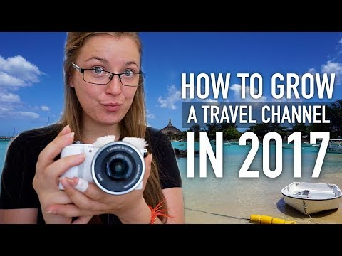 How To Grow A TRAVEL VLOG/CHANNEL On YouTube!!