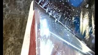 Как клеить солнцезащитную пленку на стекло и окна(Наглядная видеоинструкция