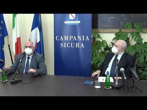 Campania, De Luca: 'Il professor Ascierto e la sua cura' (23.05.20)