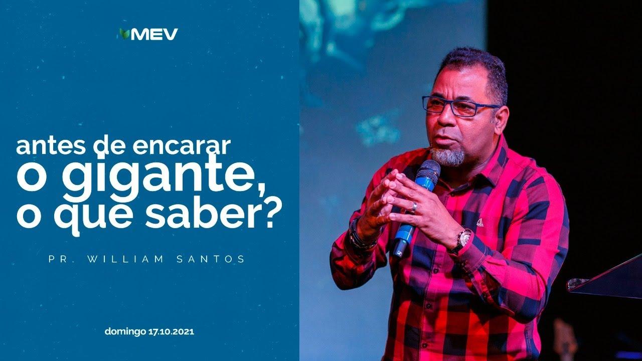 Download MEV | Antes de encarar o gigante, o que saber? | Pr. William Santos