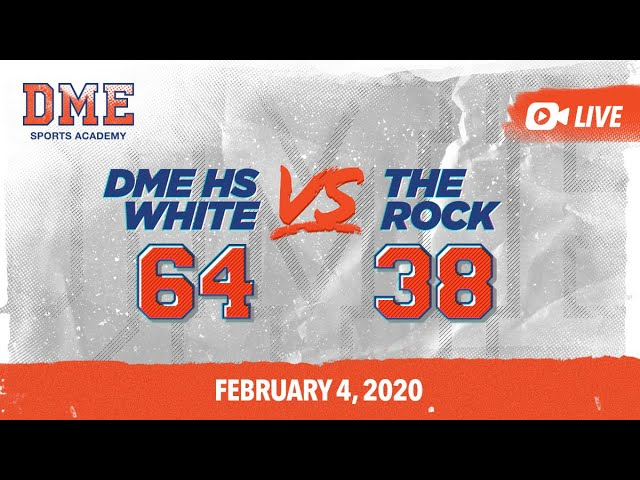 DME high school White vs The Rock