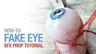 How to create a fake eye